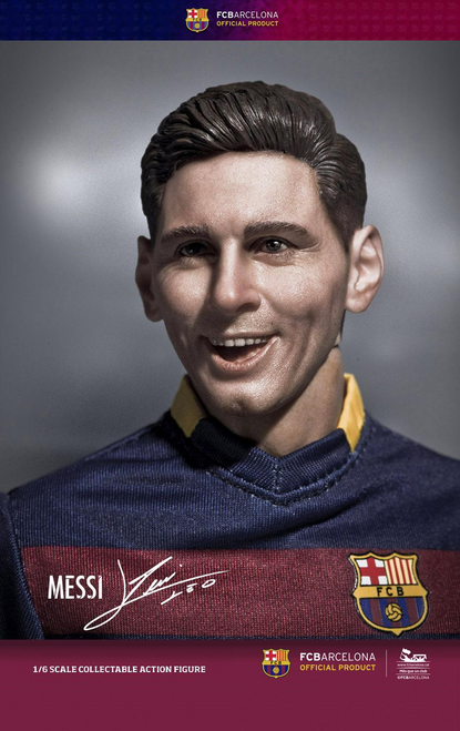 [ZC-204] 1:6 ZCWO FCBarcelona 2015/16 - Messi Deluxe Version Soccer Player