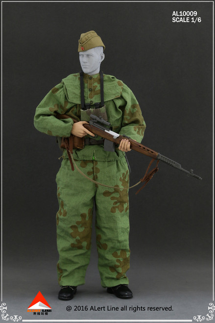 [AL-10009] Alert Line WWII Soviets USSR Sniper Suit Action Figure Uniform