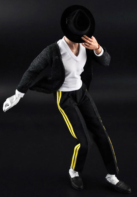 "[ZY-16-7] ZY TOYS 12"" Figure Black Dancewear Set"