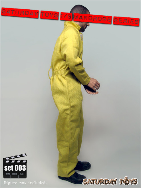 [ST-003] 1:6 Saturday Toys/Play House – Wardrobe Series 003 Yellow Jump Suit