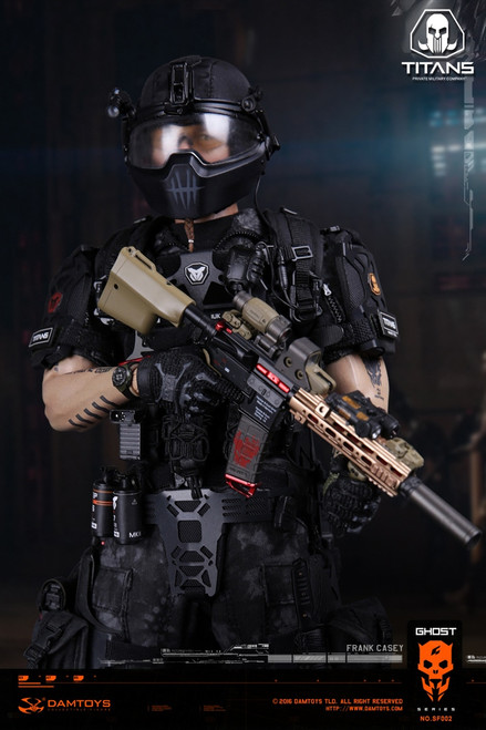 [DAM-SF002] 1:6 Ghost Series TITANS PMC Frank Casey Boxed Figure By DAM TOYS