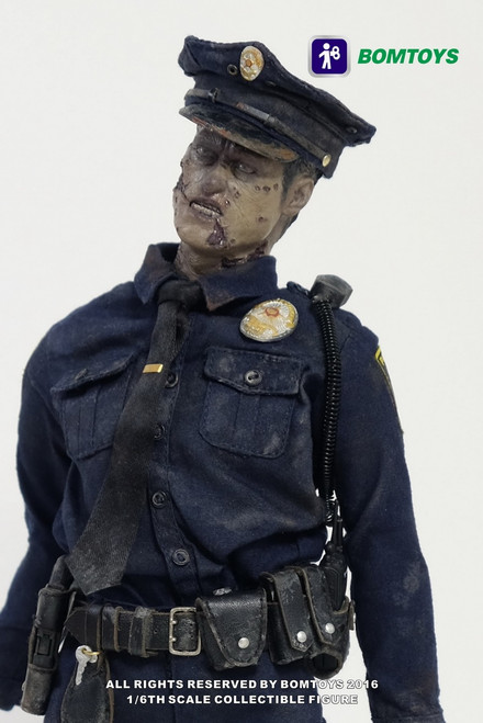 [BT-003] BOMTOYS Officer Zombie Collectible 1:6 Action Figure