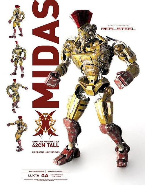 [3A-MIDAS-BAM] ThreeA 3A Real Steel Midas Bambaland Version W/ Exclusive Control