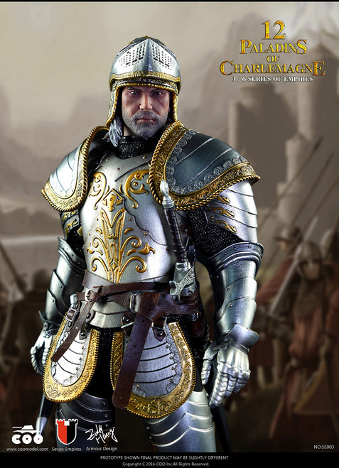 [CM-SE003] COO Model 1:6 Empire Series 12 Paladins of Charlemagne