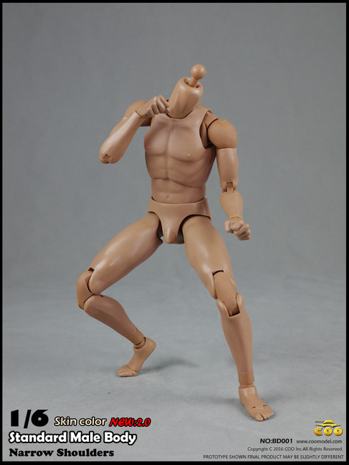"[CM-BD001] COO Model Version 2.0 Standard Male Body 9.8"" Height"
