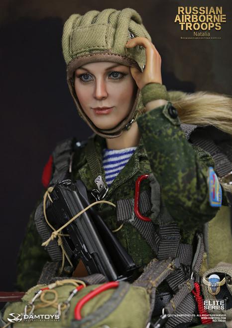 "[DAM-78035] 1:6 DAM TOYS Russian Airborne Troops ""NATALIA"" Female Boxed Figure"