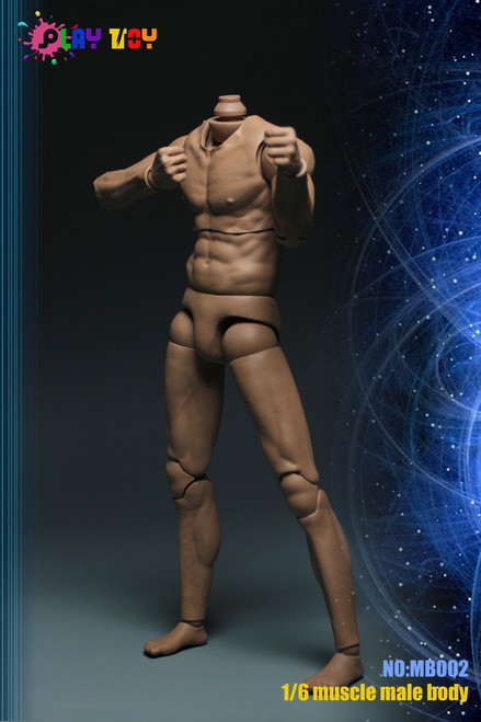 [PT-MB002] Play Toy Muscle Body for Character Head
