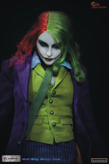 [WK-89008A] Wolf King OneSixth Female Joker Articulated Figure