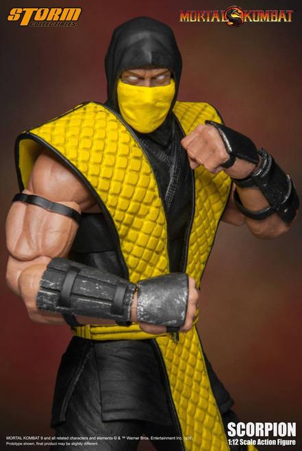 [SM-1601] Storm Collectables 1/12 Mortal Kombat Klassic Scorpion Boxed Figure