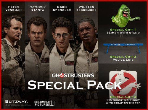 [BW-UMS10106] GhostBusters Special Pack 1:6 Scale Boxed Figure by BLITZWAY