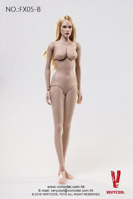 [VCF-FX05B] Very Cool Female Caucasian Skintone Female Body