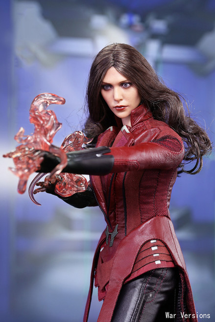 [MIS-031] 1:6 Scarlet Witch War Version Female Boxed Collectible Figure