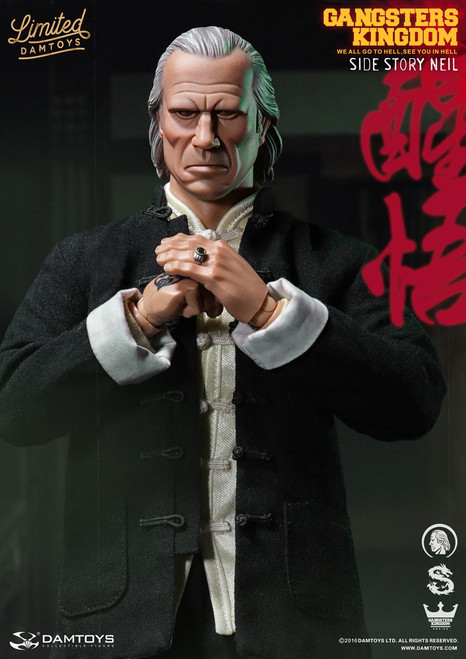 [DAM-GKS004] DAM TOYS Gangsters Kingdom Side Story Neil STCC & CICF Version in 1:6 Scale