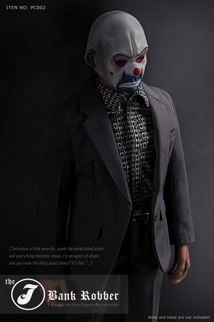 [MIS-A032] the J Bank Robber 1:6 Collectible Figure Accessory