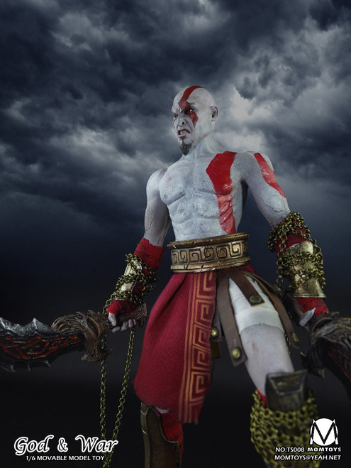 [MOM-TS008] MOMTOYS God & War 1:6 Boxed Figure
