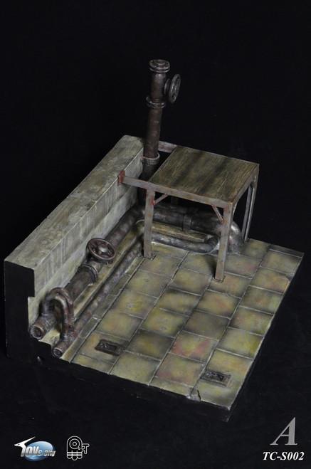 [TC-S002A] Toys City Digital Diorama Series 1/6 House Ruins Scene