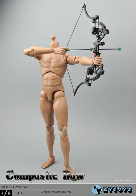 [ZY-16-5B] ZY Toys 1:6 Compound Bow for Action Figures