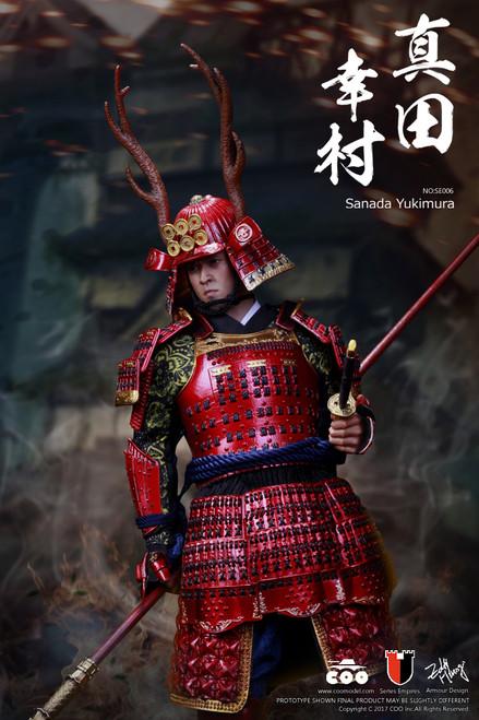 [CM-SE006] COO Model 1:6 Series Of Empires Japan's Warring States SANADA YUKIMURA 真田幸村