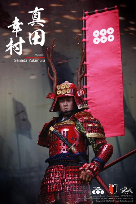 [CM-SE007] COO Model 1:6 Japan's Warring States SANADA YUKIMURA 真田幸村 Deluxe