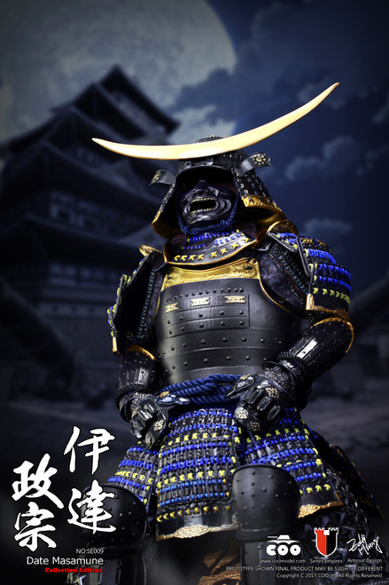 [CM-SE009] COO Model 1:6 Japan's Warring States DATE MASAMUNE 伊達政宗 Deluxe
