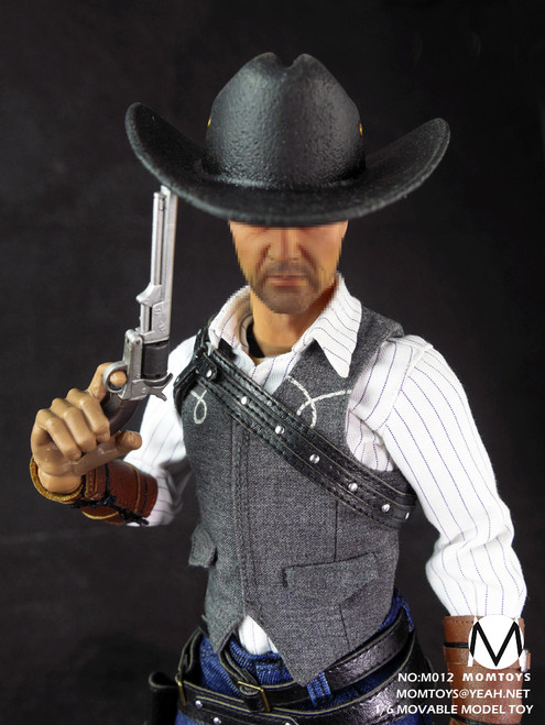 [MOM-0012] MOMTOYS Cowboy 1:6 Action Figure Accessory Set