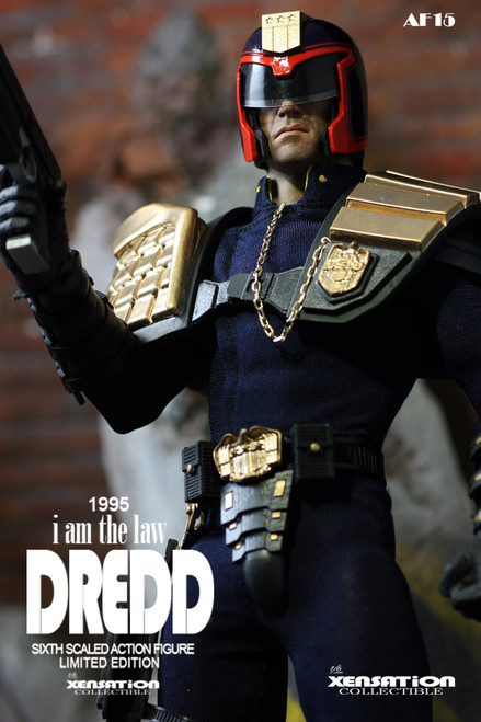 [XE-AF15] Xensation 1995 The Dredd I Am the Law 1:6 Collectibles Figure