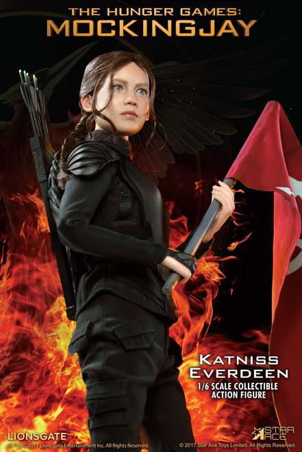 [SA-0035] 1:6 Star ACE Hunger Games Mockingjay Katniss Everdeen Boxed Figure