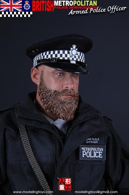 [MMS-9002] Modeling Toys Metropolitan Police Service Armed Police Officer
