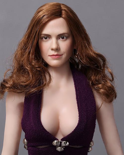 [MA-015] Modular Art 1/6 Custom Actress Emma Female Head for Phicen Bodies