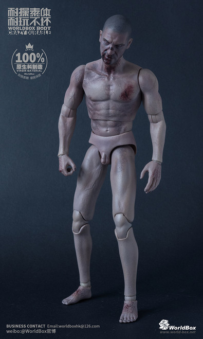 [WB-AT019] World Box 1/6 Zombie Durable Body