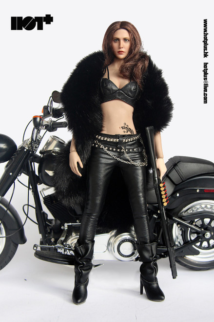 [HP-047] Hot Plus Motorcycle Jacket Girl for 1/6 Figures