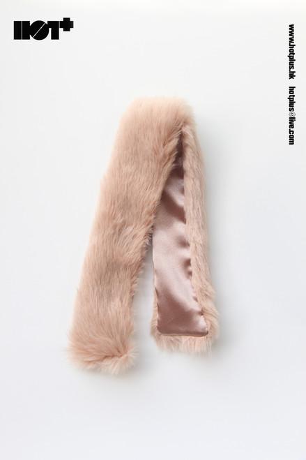[HP-050B] Hot Plus Beige Fur Cape for 1/6 Woman Figures