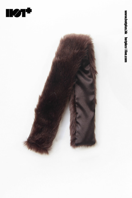 [HP-050E] Hot Plus Brown Fur Cape for 1/6 Woman Figures