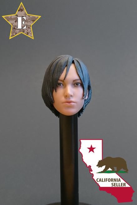 [MIS-H042] Custom Ada Head for 1:6 Female Action Figures