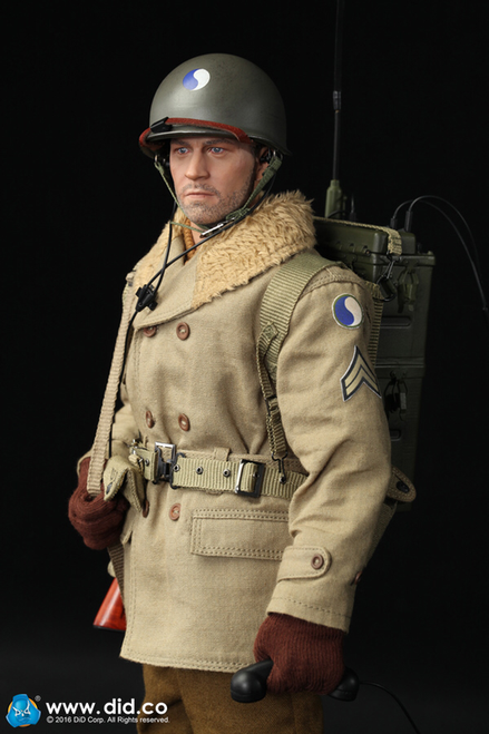 "[DID-A80115S] DiD US WWII 29TH Infantry Division Radio Operator ""Paul"" Christmas Version"