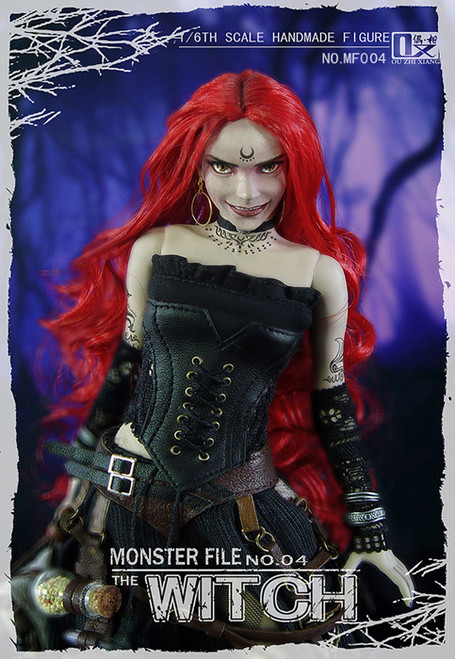 [CM-MF004] The Witch BLACK SULTAN Monster File Series 1/6 Boxed Figure by COO Model X Ouzhixiang