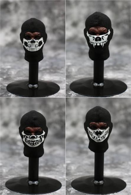 [MIS-FM001] Luminous Skull Balaclava for 1:6 Action Figures