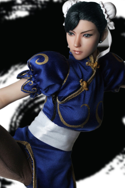 [SUD-SET014A] Super Duck 1/6 Blue Chinese Martial Art Fighter Accessory