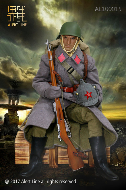 [AL-10015] Alert Line WWII Soviet Red Army Infantry Equipment 1/6 Figure Accessory