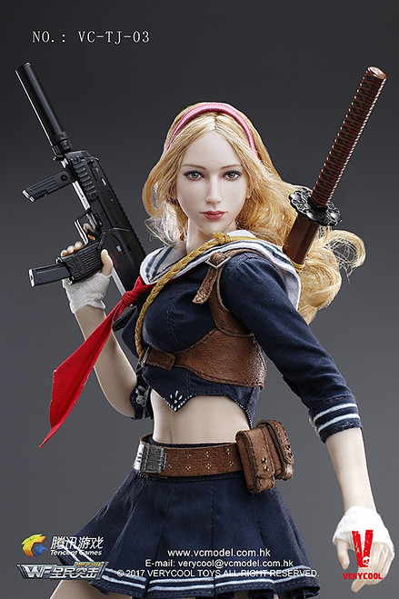 [VC-TJ-03] Very Cool Wefire of Tencent Game Third Bomb Blade Girl 1/6 Figure