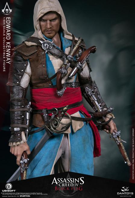 [DMS003] Ubisoft Dam Toys 1/6 Assassin's Creed IV Black Flag Edward Kenway Figure