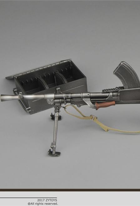 [ZY-2003] ZY Toys WWII Bren Light Machine Gun for 1/6 Figures