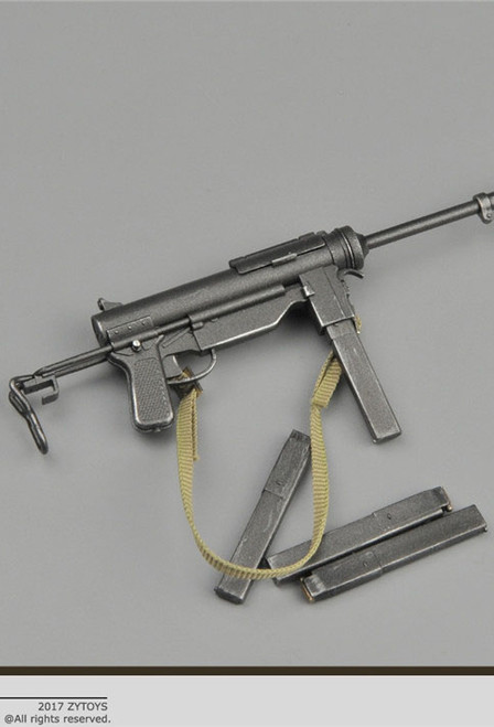 [ZY-2005] ZY Toys M3 Submachine Gun for 1/6 Figures