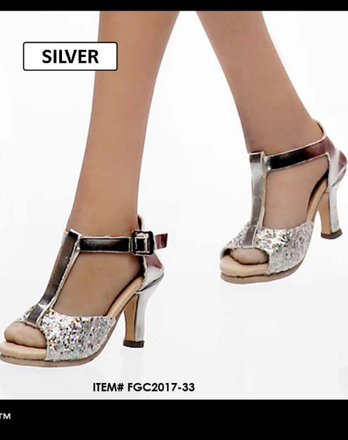 [FGC2017-33] 1:6 Flirty Girl's Hollow Sliver High Heel Shoes (USO) for Female Figures