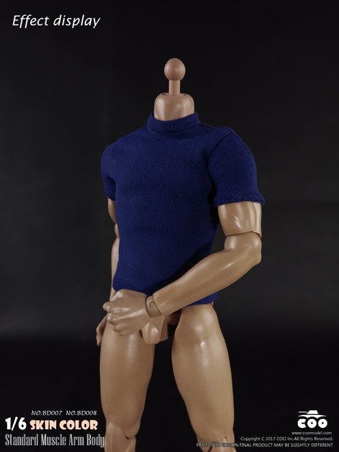 "[CM-BD008] COO Model Standard 1/6 Muscle Arm High Body 10.6"" Height"