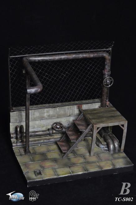[TC-S002B] Toys City Digital Diorama Series 1/6 House Ruins Scene Upgraded Version