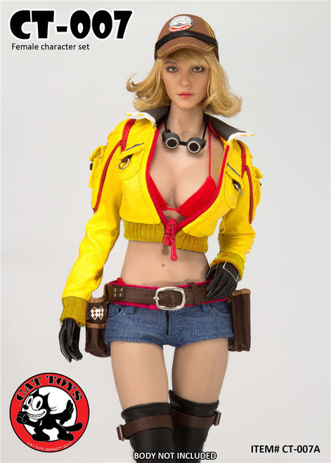 [CAT-007A] Cat Toys 1/6 Handywoman Character Set in Yellow