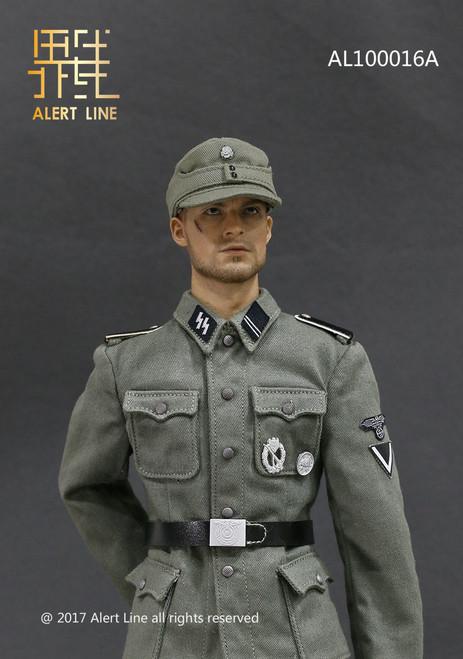 [AL-10016A] Alert Line 1/6 WWII Germany SS MG42 Machine Gunner Set