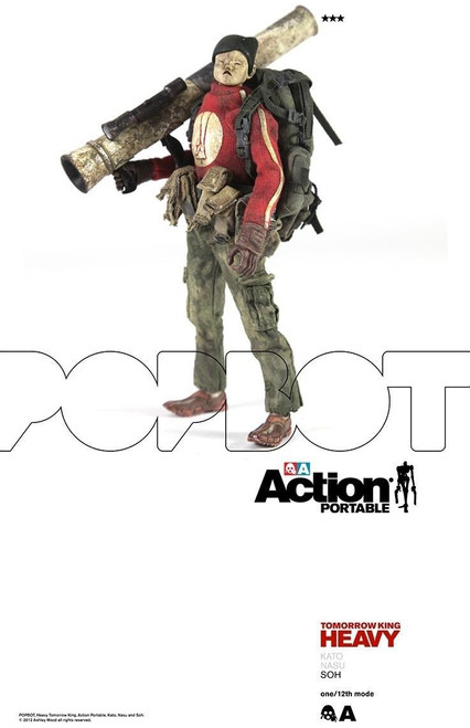 "[3A-HTK-SOH] THREEA Action Portable Heavy TK Soh 6"" 1/12 Figure"