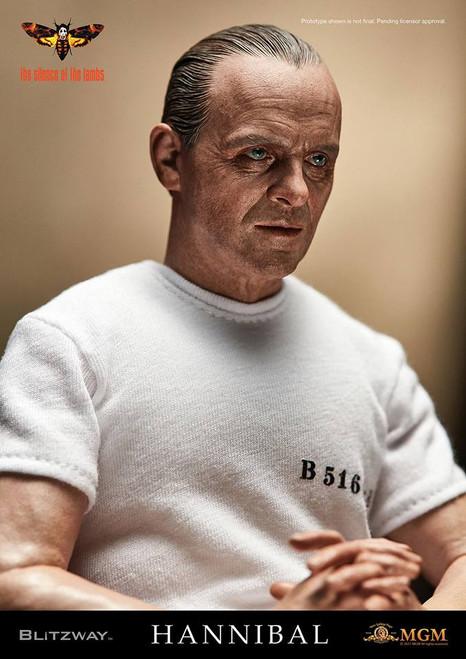 [BW-10301] BLITZWAY Hannibal Lecter White Prison Uniform Version Sixth Scale Collectible Figure